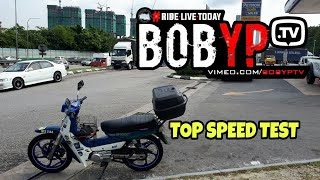 YAMAHA Y100 SPORTS TOP SPEED | BOB YP TV | PROMO