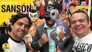 +Lucha con Sansón, en Taquería Chabelo (Octubre 2018)