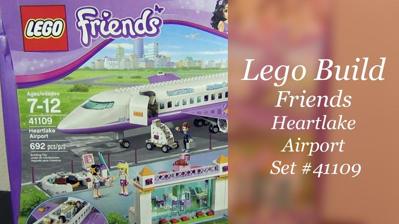 Lets Build Lego Friends Heartlake Airport Set 41109 Part 1