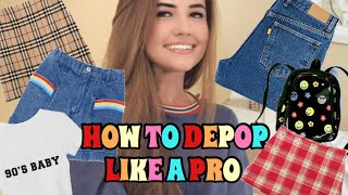 Day In The Life Of A Depop Seller! How I Take And Edit Pictures, Packaging + More!