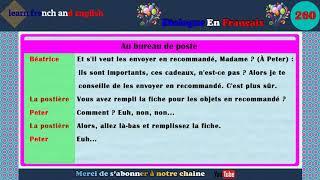 dialogue en français N ° 260