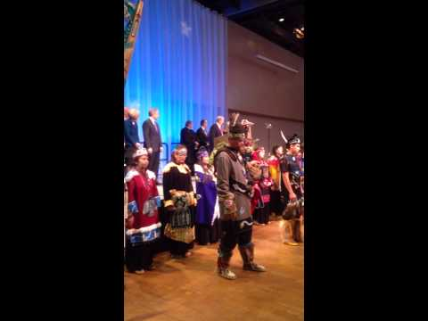 Governor Walkers Inauguration in Alaska on December 1st