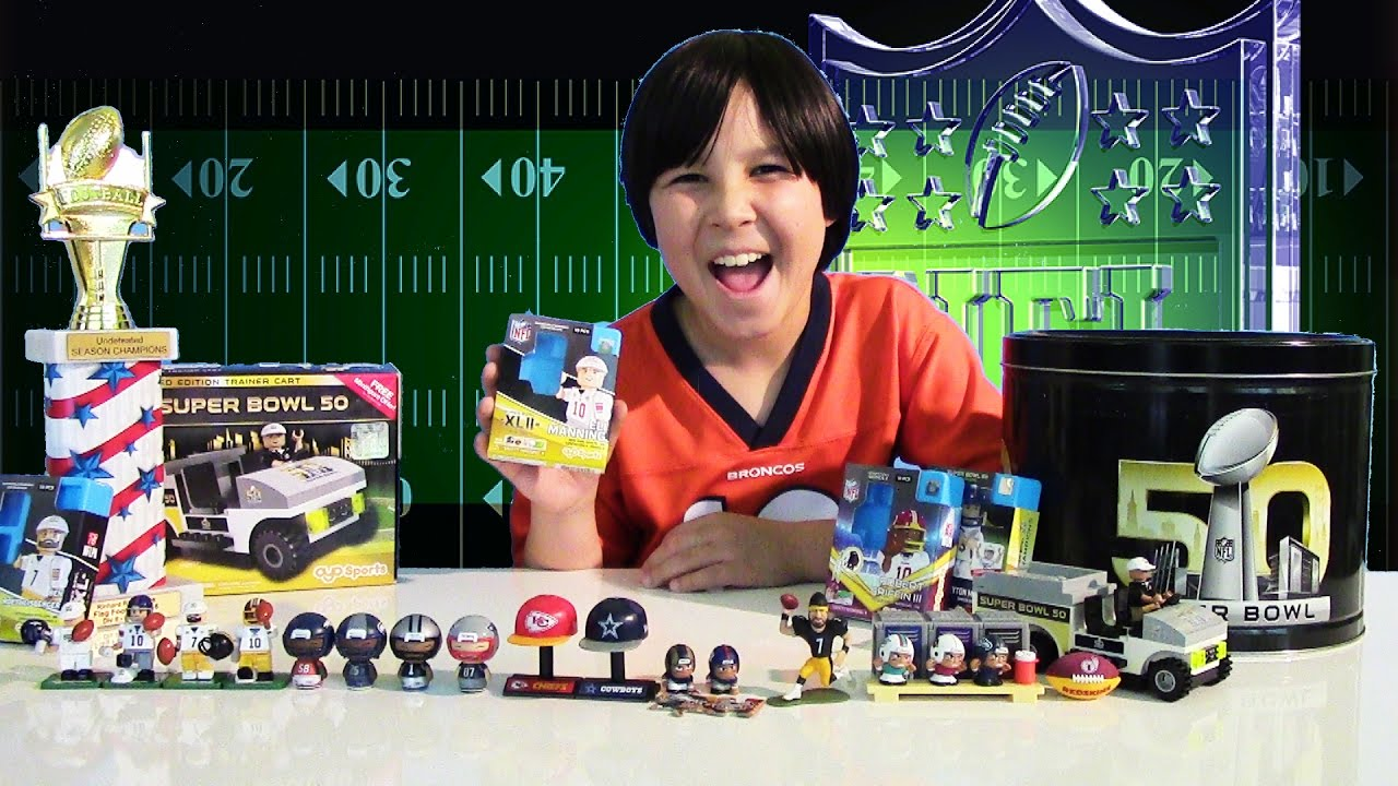Super Bowl 50 Surprise Toys Nfl Oyo Sports Exclusive