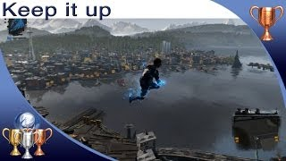 InFAMOUS: Second Son - Keep it Up - Trophy Guide (Stay in the Air for 45 Seconds)