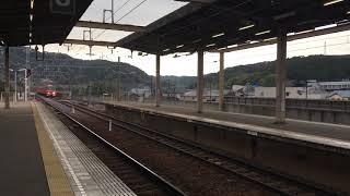 名鉄3500系3501F+3100系 本宿到着