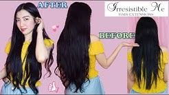 Irresistible Me Hair Extension Review + From Thin to Thick Hair