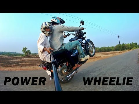 So Much Power in 100cc Bike !