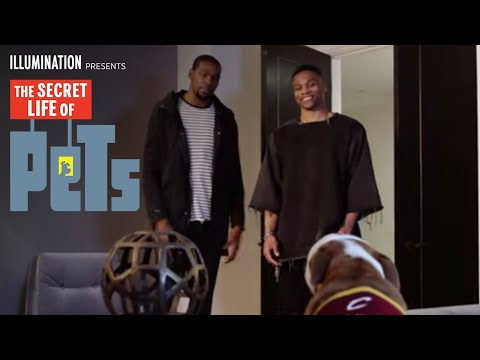 #TheSecretLifeOfNBAPets ft. Kevin Durant & Russell Westbrook (HD)