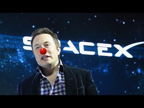 SPACEX NO CGI - Flat Earth