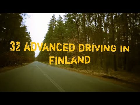32 Advanced Driving in Finland