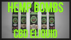 Hemp Bombs CBD Eliquid Review