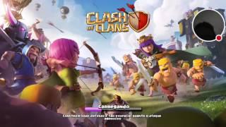 divuga canais e jogando clash of clans nome do clan #100k