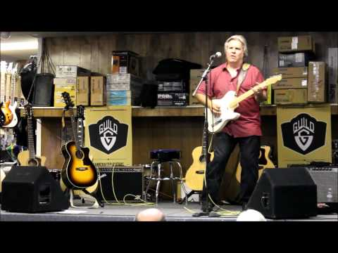 Doyle Dykes putting a Telecaster through its paces.