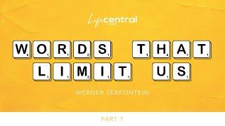 Words that limit uṡ - Part 1 - Werner Serfontein - 24 October 2021