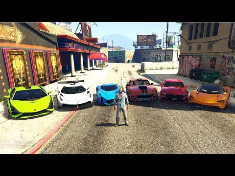 GTA 5 ✪ Stealing Luxury 2020 Cars with Traver ✪ (Most Expensive Real Cars)#18