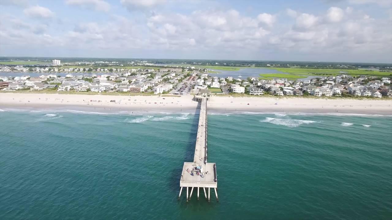 Drone In Wrightsville Beach North Carolina