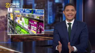 Free Sanitary Products in Scotland | The Daily Show | 27 February 2020