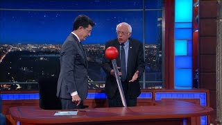 The Late Show Wheel Of News IV (with Bernie Sanders)