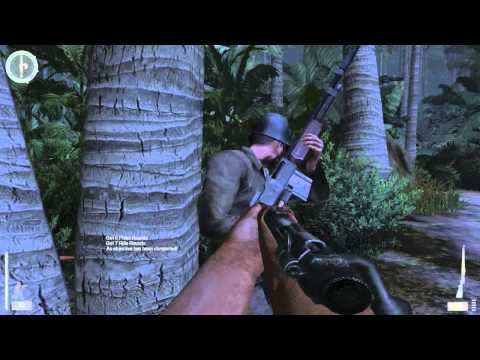 03. Medal of Honor: Pacific Assault - Realistic Difficulty Walkthrough - Makin Atoll: Nightmoves