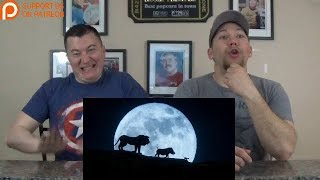 The Lion King Official Trailer REACTION!!!