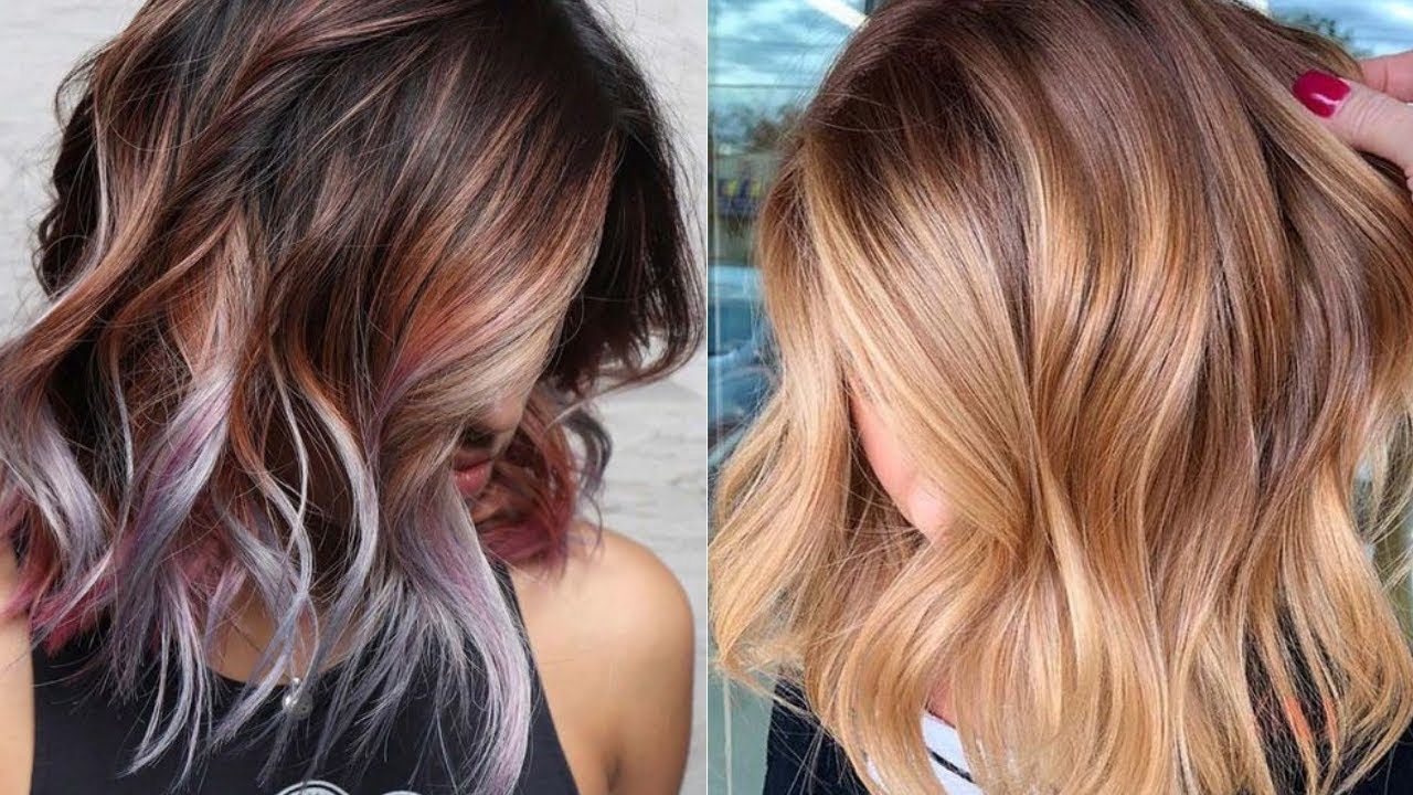 10 Trendy Hair Color Ideas For Spring Amp Summer 2019 Youtube
