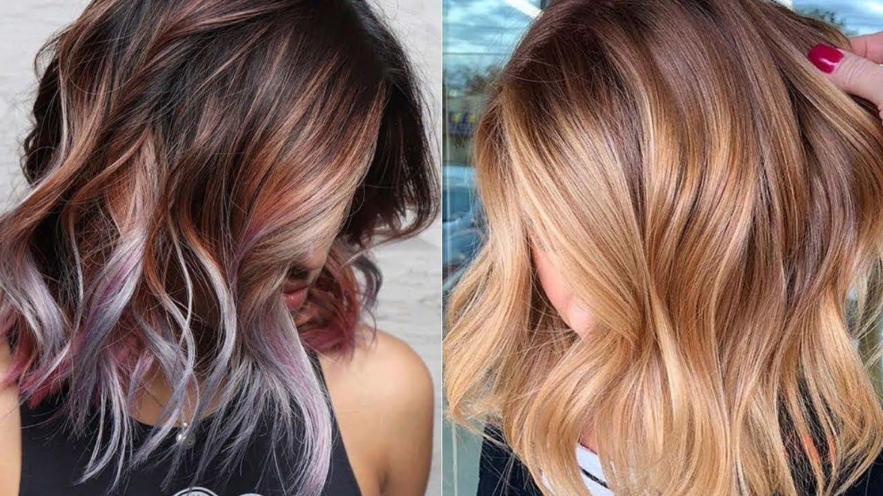 10 trendy hair color