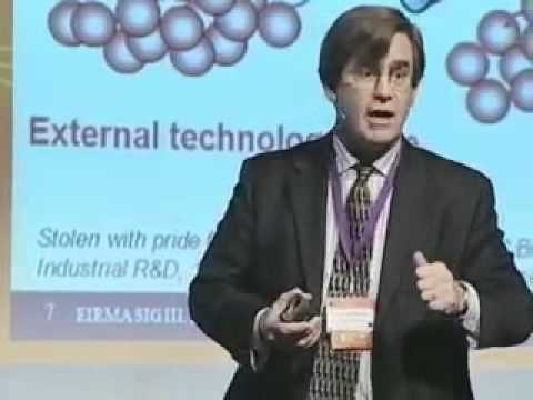 Henry Chesbrough on Open Innovation - Innovation Convention 2011 - Brussels