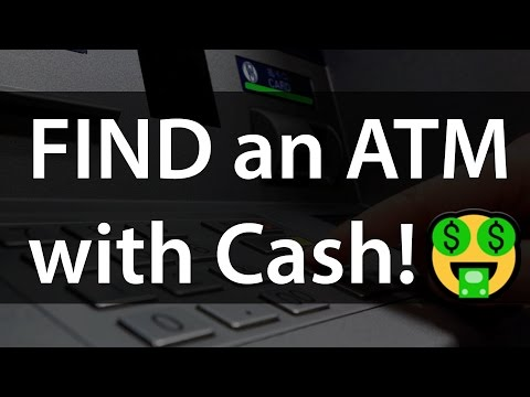 How to Find an ATM with Cash Using an Android app!😎