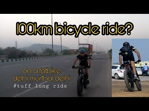 100kms on a bicycle || delhi murthal || amrik sukhdev ||is it possible to ride for such long? ||
