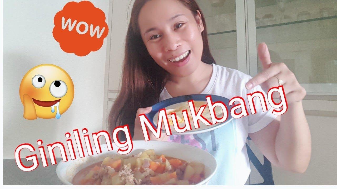 Giniling Mukbang/PinoyAbroad|Buhay OFW