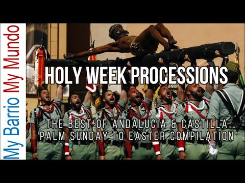 Semana Santa - Holy Week Processions In Spain - A Compilation (2020)