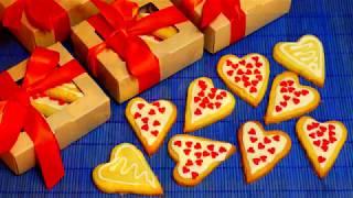 """Кокосовое печенье """"Валентинка"""". Подарок ко дню влюбленных"""