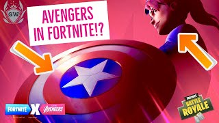 Captain America et Iron Man ! FORTNITE X AVENGERS ENDGAME EVENT LTM! Fortnite Avengers Skins!