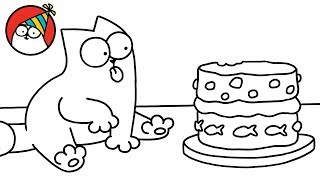 Purrthday Cake (A 10th Birthday Special) - Simon's Cat | SHORTS #75