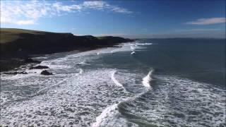 Sandymouth an Aerial movie 08/08/2015