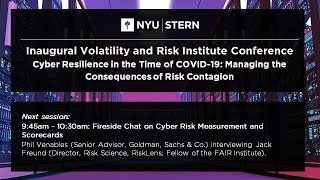 Fireside chat with Phil Venables and Jack Freund   Volatility And Risk Institute Conference 2020