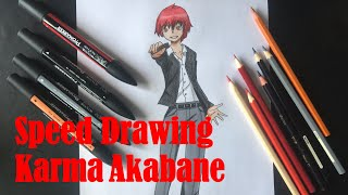 Speed Drawing : Karma [Assassination Classroom]
