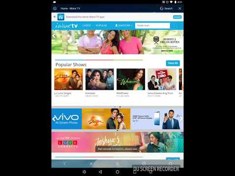 how to download tv series video from iWantTV