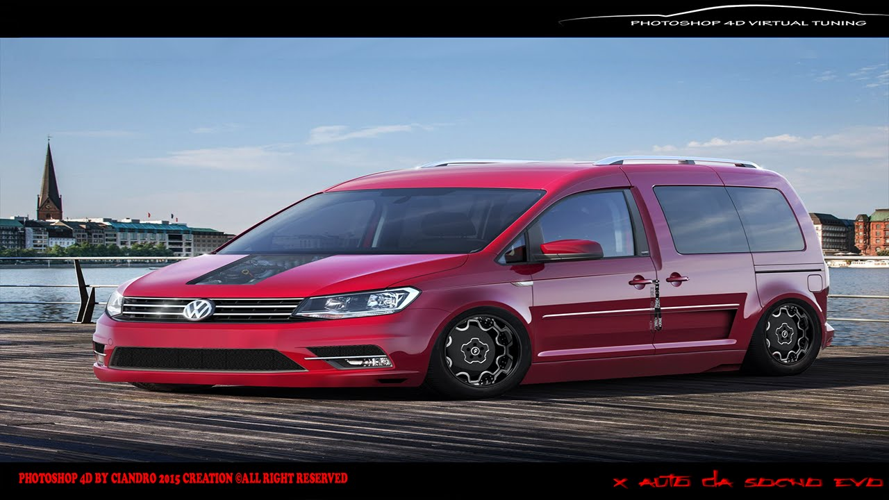 Lieblings ▻ Virtual Tuning #119| Volkswagen Caddy 2016 | Photoshop HD - YouTube &IQ_23