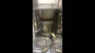 기름짜는기계/착유기 수리후 TEST 1