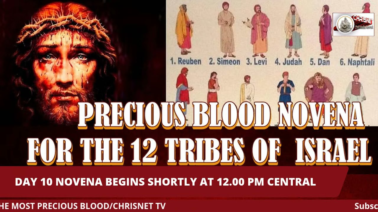PRECIOUS BLOOD: July Novena For The 12 Tribes Of Israel- Day 10