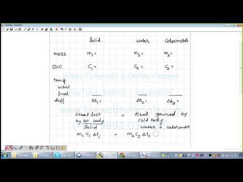 Calorimetry , SHC sum , 06 03 2014