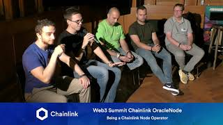 Chainlink Web3 Summit OracleNode: Being a Chainlink Node Operator