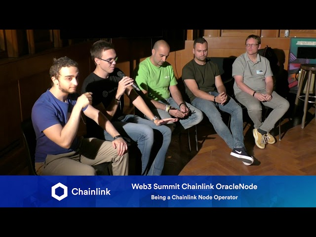 Chainlink Web3 Summit HackerNode: Being a Chainlink Node Operator