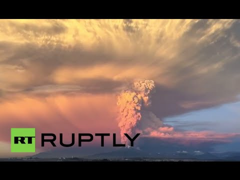 Chile: See Calbuco volcano erupt for first time in 42 years