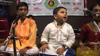 Vakrathunda & Parukkulle Nalla Nadu by KBS Inculcation Team