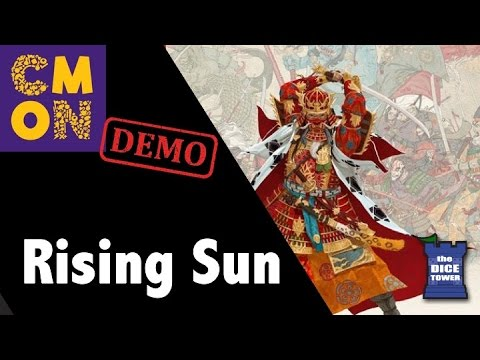 CMON Expo 2017: Rising Sun Demo!!!