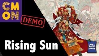 CMON Expo 2017: Rising Sun Demo!!!