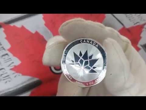 Happy Canada Day Silver Stackers! Responsibly Sourced Canadian 150th Birthday 1 oz Silver Rounds