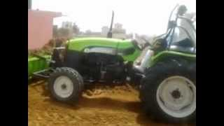 Preet tractor stunt
